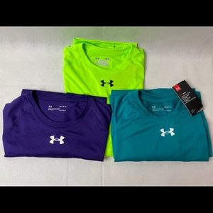 NWT Men's Under Armour Size M Lot of 3 shirts
